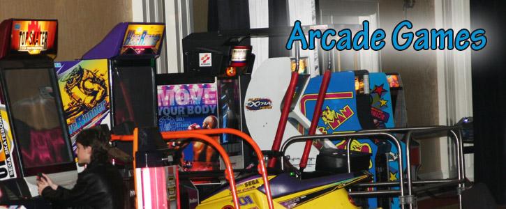 Arcade gambling games